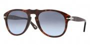 Persol PO 0649 Sunglasses Sunglasses - 24/86 Havana / Crystal Sky Gradient