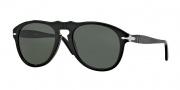 Persol PO 0649 Sunglasses Sunglasses - 95/31 Black / Crystal Green