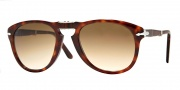 Persol PO0714 Sunglasses Folding Sunglasses - 24/51 Havana / Crystal Brown Gradient