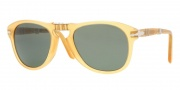 Persol PO0714 Sunglasses Folding Sunglasses - 204/31 Transparent Yellow / Crystal Green