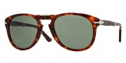 Persol PO0714 Sunglasses Folding Sunglasses - 24/31 Havana / Crystal Green