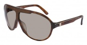 Fendi FS 5018ML Sunglasses - 214 Light Havana / Gray