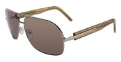 Fendi FS 5038M Sunglasses Sunglasses - 723 Green Gold / Brown