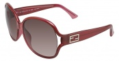 Fendi FS 5070 Sunglasses Sunglasses - 603 Transparent Fuchsia / Dark Red Gradient