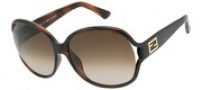 Fendi FS 5070 Sunglasses Sunglasses - 238 Dark Havana / Brown