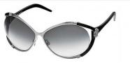 Roberto Cavalli Taigete Sunglasses - O731 Gunmetal Black / Gray Gradient
