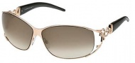 Roberto Cavalli RC376S Temi Sunglasses - O772 Dark Brown Rose Gold / Dark Brown Gradient