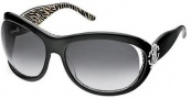 Roberto Cavalli Teutra Sunglasses - OU18 Black Silver / Gray Gradient
