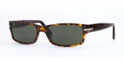 Persol PO 2747S Sunglasses Sunglasses - 24/31 Havana / Crystal Green