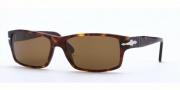 Persol PO 2761S Sunglasses Sunglasses - (24/57) Havana / Crystal Brown Polarized