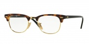 Ray-Ban RX 5154 Eyeglasses Eyeglasses - 5494 Brown Havana