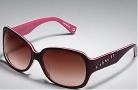 Coach Tasha S846 Sunglasses - 609 Burgundy / Burgundy Gradient