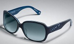 Coach Tasha S846 Sunglasses - 414 Navy / Blue Gradient