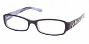 Prada PR 15LV Eyeglasses Eyeglasses - (7ON1O1) Top Violet On Lilac
