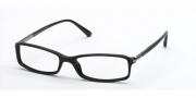 Prada PR 17GV Eyeglasses Eyeglasses - (1AB1O1) Gloss Black