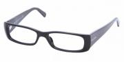 Prada PR 17LV Eyeglasses Eyeglasses - (1AB1O1) Gloss Black