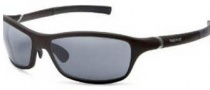 Tag Heuer 27 Sunwear 6007 Sunglasses - 104 Black Temple / Brown Front / Outdoor Lens