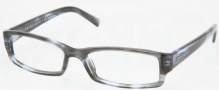 Prada PR 19LV Eyeglasses Eyeglasses - ZXJ1O1 Smoke (size 54 only)