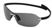 Tag Heuer Rimless Curve 5107 Sunglasses (Zenith) Sunglasses - 101 Black / Gray Lenses