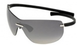 Tag Heuer Rimless Curve 5109 Sunglasses (Zenith) Sunglasses - 101 Black / Gray Gradient Lenses