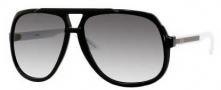 Gucci 1622/S Sunglasses Sunglasses - 0OVF Black White (LF gray gradient lens)
