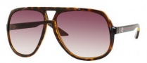 Gucci 1622/S Sunglasses Sunglasses - 0791 Havana (9M Brown Gradient)