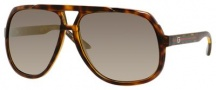 Gucci 1622/S Sunglasses Sunglasses - 0791 Havana (VD gray sf flshgld lens)