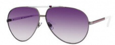 Gucci 1933 Sunglasses Sunglasses - 06XL Dark Ruthenium White (9C dark gray gradient lens)