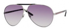 Gucci 1933 Sunglasses Sunglasses - 0BGY Ruthenium Black (N3 gray gradient lens)