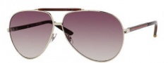 Gucci 1933 Sunglasses Sunglasses - 0EW0 Light Gold Havana (YY brown gradient lens)