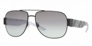 Burberry 3042 Sunglasses Sunglasses - 100111 Black / Gray Gradient