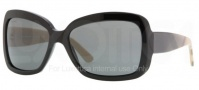 Burberry BE4074 Sunglasses Sunglasses - 300187 Shiny Black / Gray
