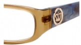 Juicy Couture Eva Eyeglasses Eyeglasses - 01C9 Brown Lavender Horn