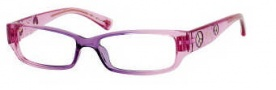 Juicy Couture Little Drama Eyeglasses Eyeglasses - 0DJ4 Lavender Pink Fade