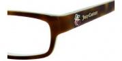 Juicy Couture Hanah M Eyeglasses Eyeglasses - 0ERN Espresso Ice Pink
