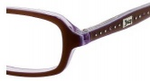 Juicy Couture Zoe Eyeglasses Eyeglasses - 0JQW Bronze Violet