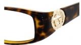 Gucci 3066 Eyeglasses Eyeglasses - 0791 Havana