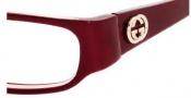 Gucci 3023 Eyeglasses Eyeglasses - 0VXI Burgundy Pink
