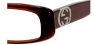 Gucci 2973 Eyeglasses Eyeglasses - 0AOX Dark Olive Chocolate