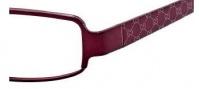 Gucci 2867 Eyeglasses Eyeglasses - 0LEV Burgundy