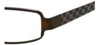 Gucci 2867 Eyeglasses Eyeglasses - 0Z9L Semi iMatte Brown
