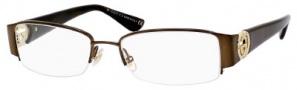 Gucci GG 2844 Eyeglasses Eyeglasses - 0NVX Brown Havana
