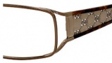 Gucci 2809 Eyeglasses Eyeglasses - 0HBC Shiny Brown