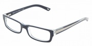 DG DD 1167 Eyeglasses Eyeglasses - 1501 Blue on Transparent *Ships same day*