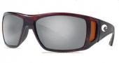 Costa Del Mar Bomba Sunglasses Tortoise Frame Sunglasses - Silver Mirror Glass / Costa 580