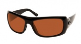 Costa Del Mar Bonita Sunglasses Black Frame Sunglasses - Copper / 580P