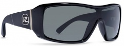 Von Zipper Comsat Sunglasses Sunglasses - Black Gloss / Grey (BKG)