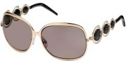 Roberto Cavalli RC441S Sunglasses Sunglasses - O28J Rose Gold/Black
