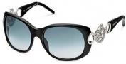 Roberto Cavalli RC446S Sunglasses Sunglasses - O01B Black Rhodium