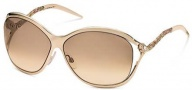 Roberto Cavalli RC450S Sunglasses Sunglasses - O30G Rose Gold / Brown Gradient